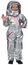 Festartikel Hirschfe Astronautenanzug Overall, Haube Kinder Kostüm