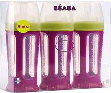 Beaba Biboz Babyflaschen 3-er Set (210 ml)