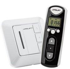 Jarolift Funkhandsender TDRCT 04 + 4 Funkempfänger Einfachtaster TDRR 01W