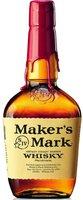 Makers Mark Kentucky Straight Bourbon Whiskey 1l 45%