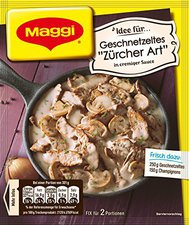 Maggi fix & frisch: Geschnetzeltes Züricher Art