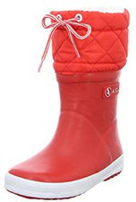 Aigle Giboulee Junior rouge/blanc