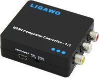 Ligawo 6518835 HDMI zu Composite Konverter