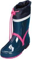 Playshoes Gummistiefel Basic marine/pink (184307)
