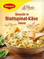 Maggi La Pasta: Pasta mit Blattspinat in Frischkäsesauce