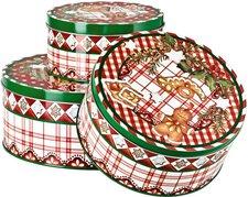 Hutschenreuther Candyland Plätzchendosen 3er Set rund