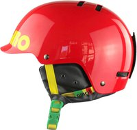 Giro Surface S red rasta color block
