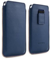Proporta Brunswick England Leather Pouch blau (iPhone 5/5S)