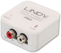 Lindy 70468 Audiokonverter Cinch (koaxial) <-> Cinch (analog)
