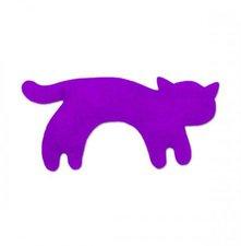 Kazik Wärmekissen, Katze stehend klein (150 g) - Purpur