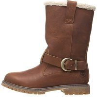 Timberland Women's Nellie Pull-On Waterproof Boot (3209R) medium-brown