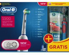 Oral-B Triumph 5500 mit SmartGuide + gratis Stages Power
