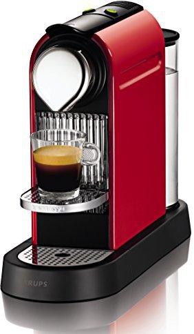 Krups Nespresso New CitiZ XN 7205 Fire-Engine Red