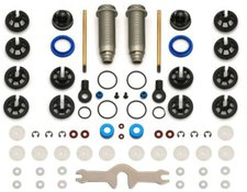 Team Associated Big Bore 12mm SC10/T4-Hinten Alu-Gewindedämpfer Set (91317)