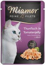 Miamor Feine Filets Thunfisch & Tomate (100 g Frischebeutel)