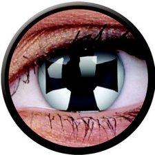 ColourVue Funny Lens Black Cross (2 Stk.)
