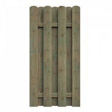 Delta Gartenholz Bohlenzaun BxH: 90 x 180 cm
