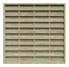 Delta Gartenholz Dichtzaun BxH: 180 x 180 cm