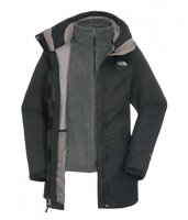 The North Face Women's Triton Triclimate Jacket Tnf Black