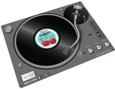 Joseph Joseph Record Player Glasplatte