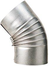 Muldenthaler Bogen gerippt 45° ohne Reinigungsöffnung FAL Ø 150 mm (2BG45150)