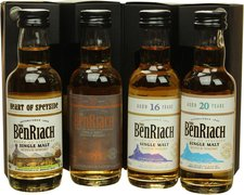 BenRiach Classic Speyside Collection 4 x 0,05l