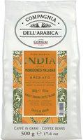 Compagnia dellarabica Kaffe India 100% Arabica Bohnen (500 g)
