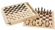 JeuJura Dame- und Schachspiel (8133)