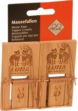 DeuFa Mausefalle Luna 2 Stück