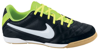 Nike JR Tiempo Natural IV LTR IC black/white/electric green
