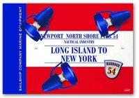 Waldi Deckenlampe Long Island rot 3-flg.