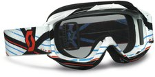 Scott 89Si Pro Youth grid lock white / clear afc