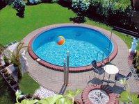 my pool Premium Rundbecken-Set 400 x 135 cm