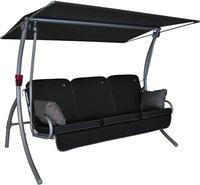 Angerer Primero Style 3-Sitzer (Design Style schwarz)