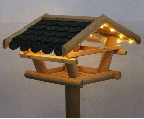 Westerholt LED Solar Vogelfutterhaus
