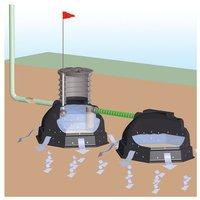 Rewatec Sicker-Iglu System Profi 900 Liter begehbar (RWVS0901)