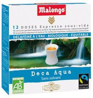 Malongo Kaffee-Pads Deca Aqua (12 Stk.)