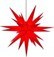 Herrnhuter Sterne Außenbereich rot 130 cm