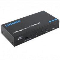 Ligawo 6518736 HDMI Splitter 1x2 4Kx2K
