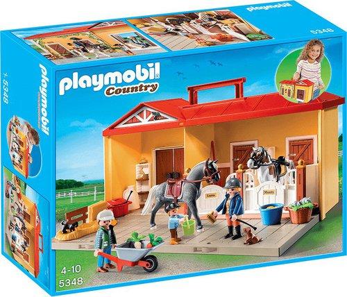 Playmobil Country - Mein Pferdestall zum Mitnehmen (5348)