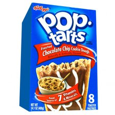 Kellogg Company Pop Tarts Frosted Chocolate Chip Cookie Doug (400g)