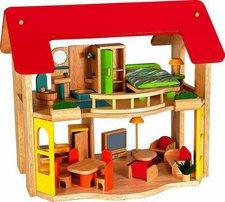 Voila Puppenhaus mit Möbeln (S543B)