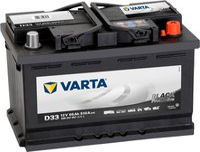 Varta Promotive Black 12V 66Ah D33