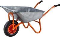 Dema Metall-Schubkarre verzinkt 120 Liter