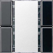 Jung Tast-Sensor 2-fach, schwarz LS2092NABSSW