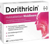 Medice Dorithricin Halstabletten Waldbeere (50 Stk.)