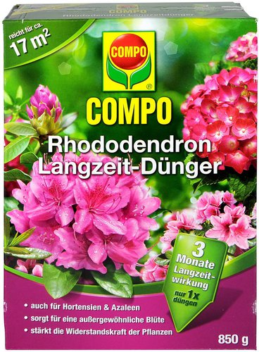 Compo Rhododendron Langzeit-Dünger 850 g