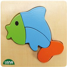 Lena Holzpuzzle Fisch