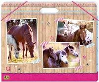 Spiegelburg 20601 Sammelmappe A3, Pferdefreunde