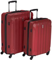Travelite Colosso 4-Rollen-Trolley Set 2-tlg. 65/76 cm
